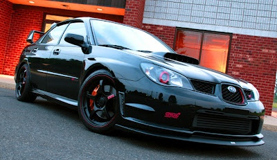 Black Beauty: 2006 Subaru Impreza WRX STi