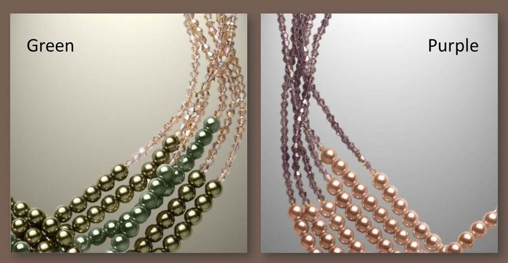 The Abby necklace in green or purple: Which would you wear this fall? Let us know below and see what others think too.