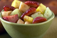 Mexican Fruit Salad: Great summertime salad. I don't drink so I made 2 bowls, 1 with tequila. Both got good reviews.  I added jicama and 2 pinches of red pepper. Taste before you toss. Other options: cucumber & watermelon