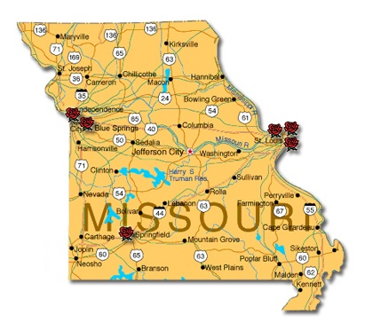 Best Maps Of Places Ive Been Images On Pinterest Maps - Show me a map of missouri