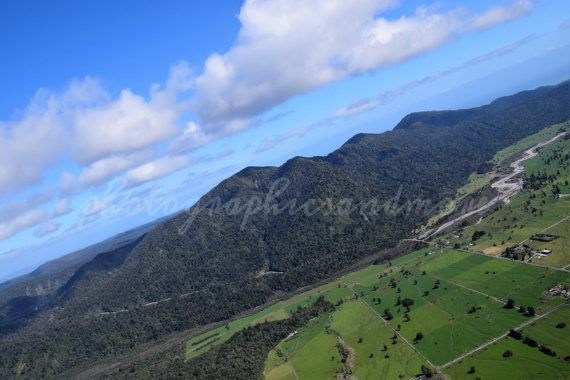 Aerial Photography Mountains Paddocks by photographicsandmore