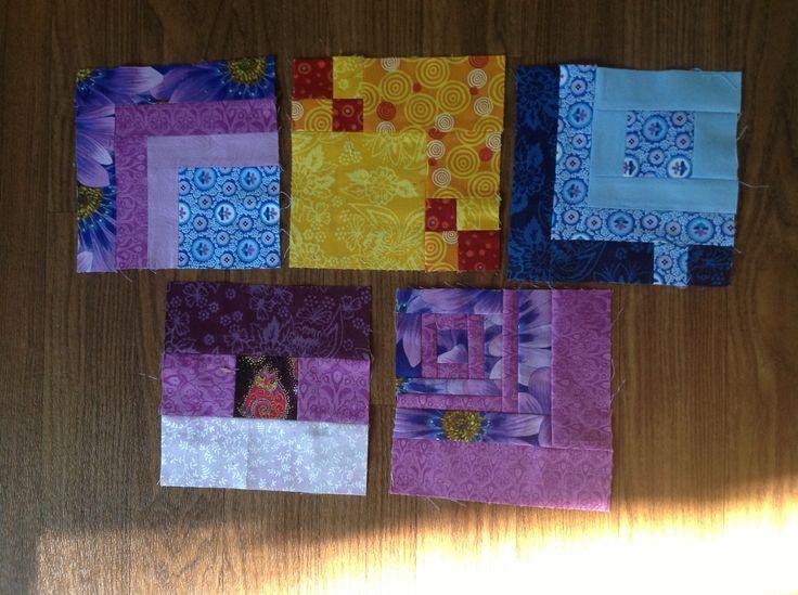 Squares. Blocks 76-80.