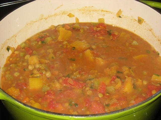 Harira, sopa marroquí de lentejas - En Mi Cocina Hoy