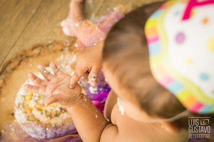 smash the cake, book infantil, ensaio infantil, família, bolo, bebê, 1 aninho, fotografia de criança, foto, Luis Gustavo Fotografia, menina, tutu
