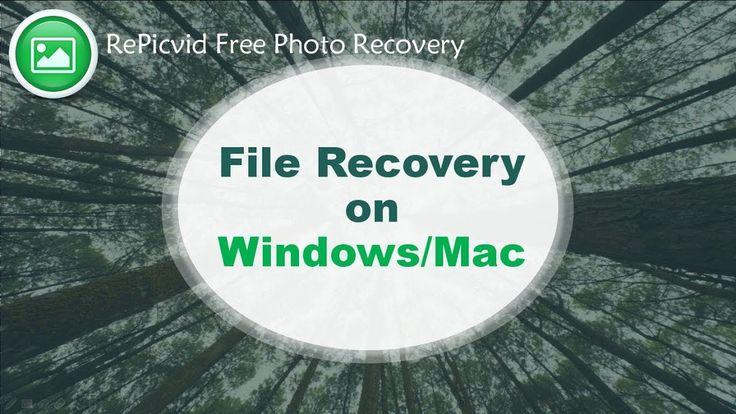 File Recovery on Windows/Mac