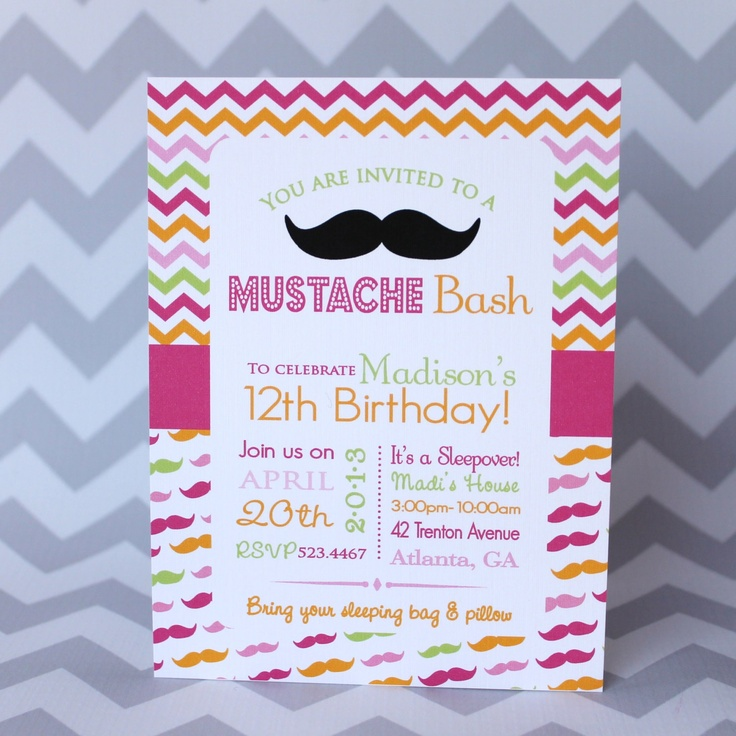 13 best Mustache Party Ideas images on Pinterest | Anniversary ...