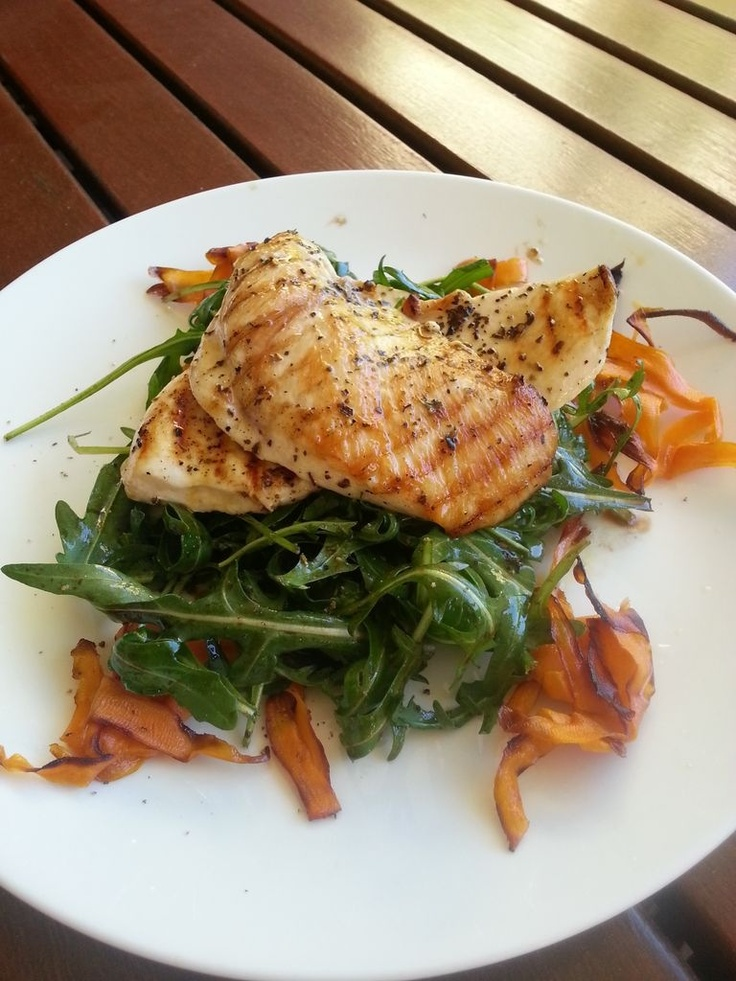 """A great meal made by Daniel Churchill author of the soon to be best-seller """"Dude Food"""""""