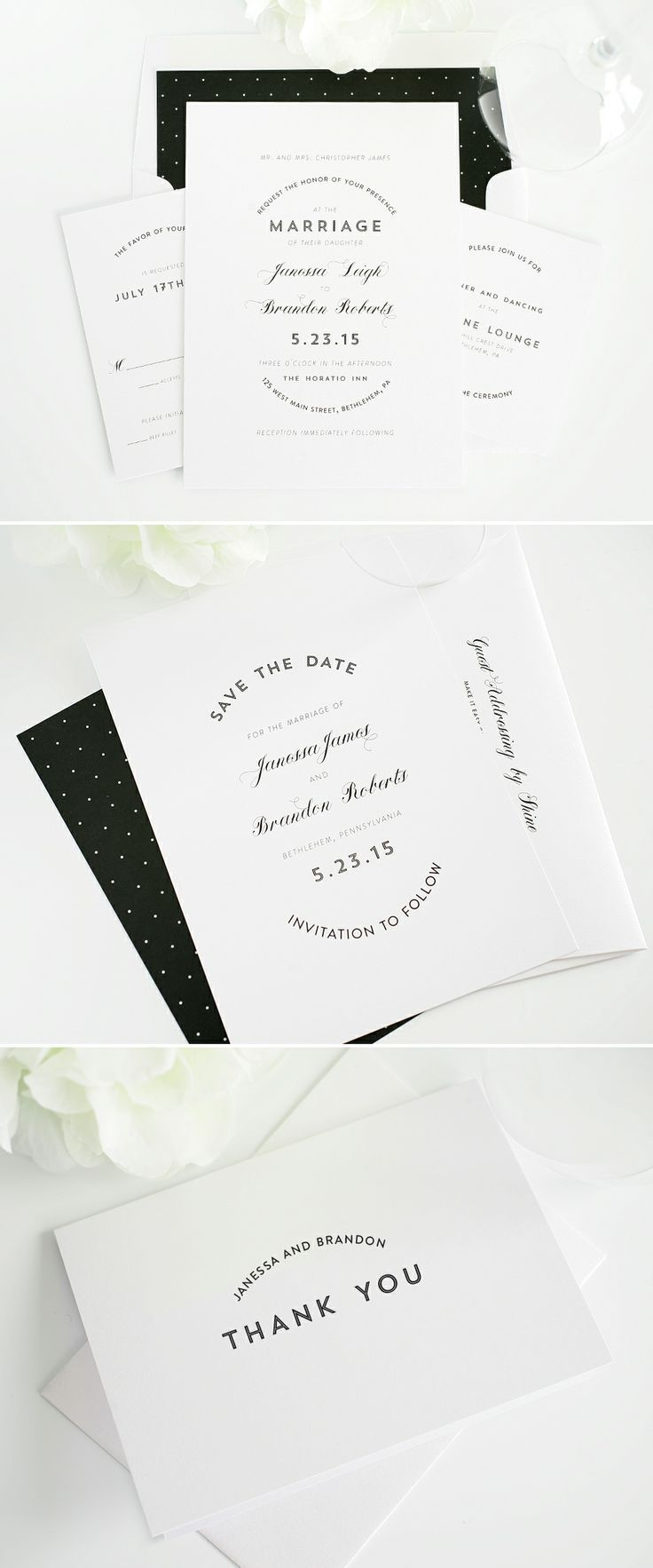 30 Gorgeous Wedding Invitation Ideas from Pinterest | StyleCaster