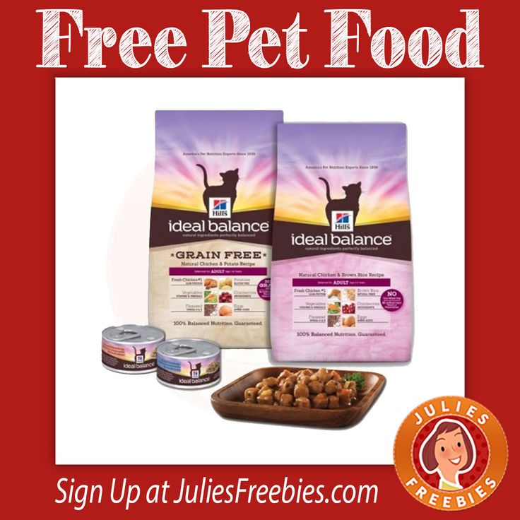 Facebook Twitter PinterestHere is an offer from Crowdtap, where you can apply to try Hills Ideal Balance Pet Food, for FREE!  Simply apply, to see if you're accepted. SIGN UP HERE