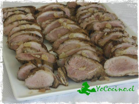 Solomillo de cerdo al jengibre y naranja. www.yococino.cl