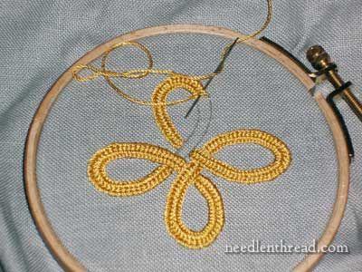 the plaited braid stitch @Callie Christner.com