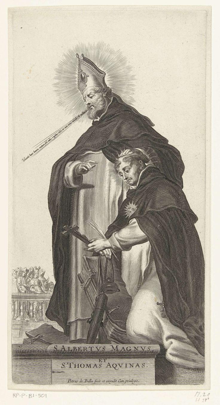 Pieter de Bailliu (I)   Dominicaanse heiligen Albertus Magnus en Thomas van Aquino, Pieter de Bailliu (I), 1623 - 1660  