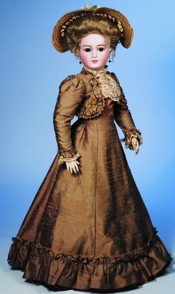 181: LOVELY SIMON & HALBIG GERMAN BISQUE LADY DOLL. M : Lot 181