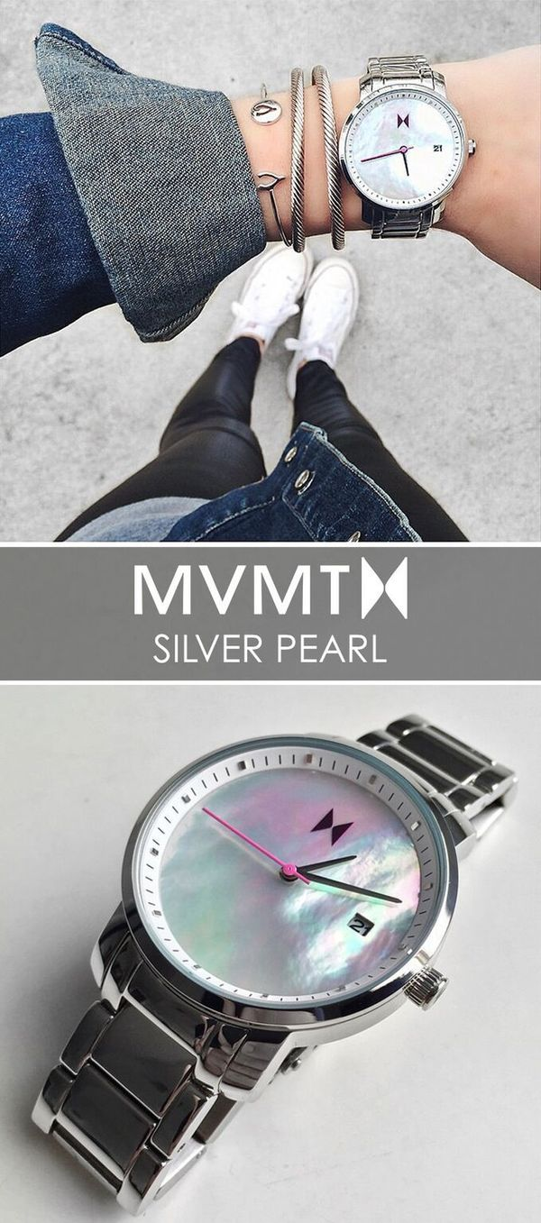 The best dressed always pay close attention to detail. For just $125, up your accessory game with this Silver Pearl watch. Quality crafted minimalism meets elegant chic design. Let your style make a statement. Click the buy button to get it now!
