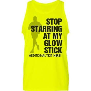 glow run shirts -for Bubba!