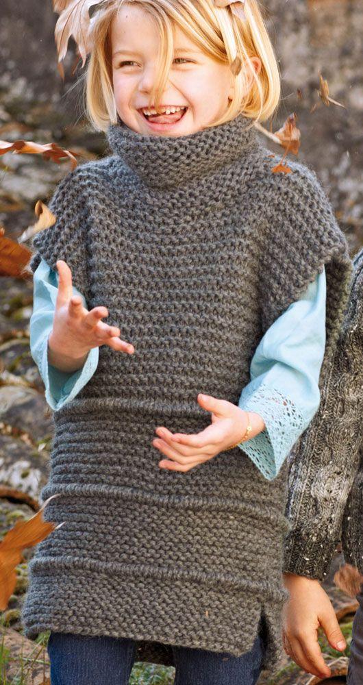 Knitted Girl's Dress
