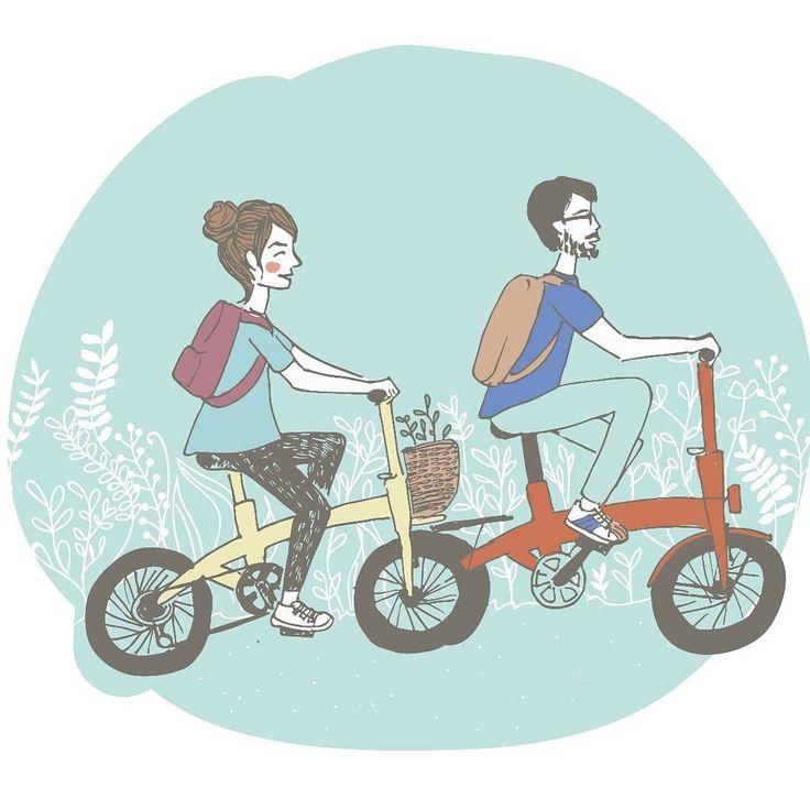 { Los domingos se hicieron para salir en bici }