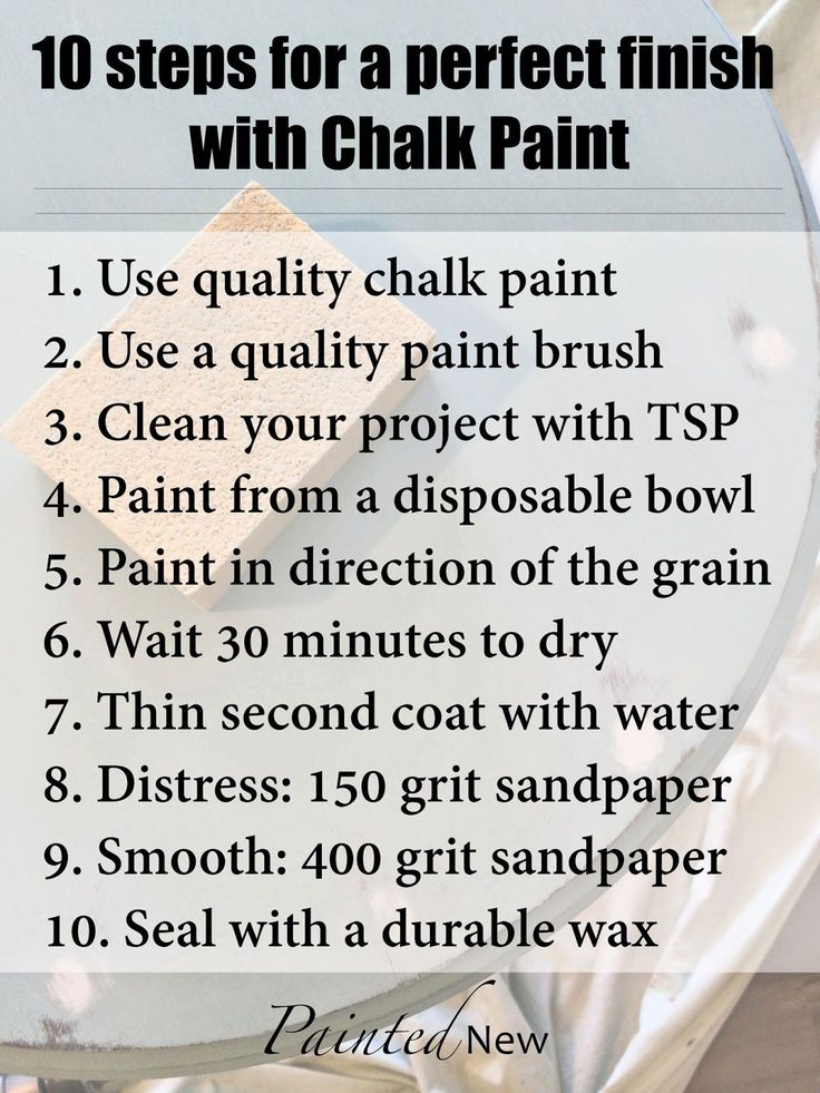 Painted New: Tips and Tricks for using Chalk Paint
