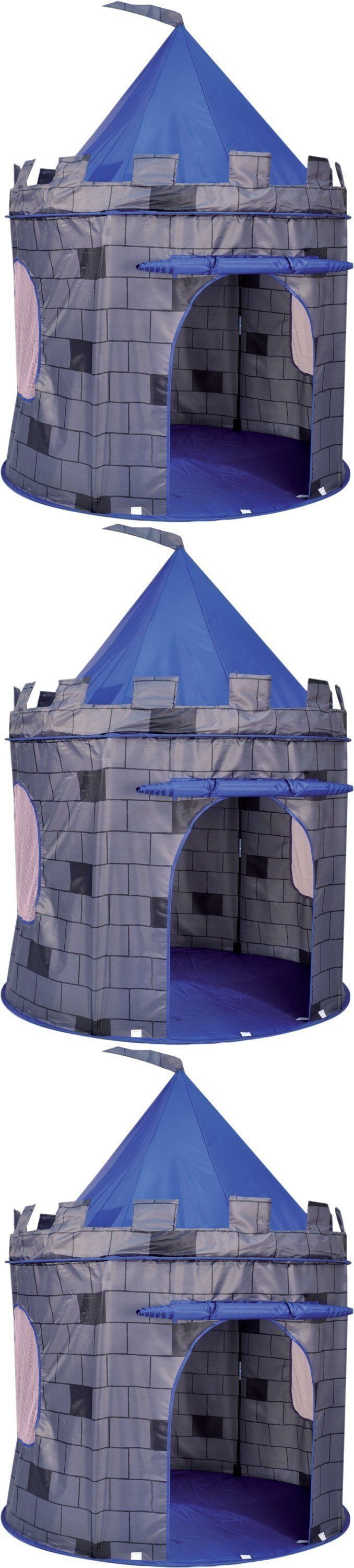 Other Play Tents and Tunnels 11744: Kids Play Tents And Tunnels Castle Boy Knight S Pop Up Kids Playhouse Blue -> BUY IT NOW ONLY: $32.99 on eBay!