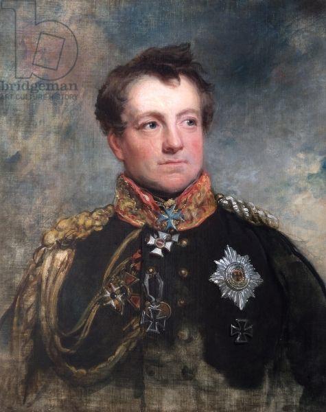 Field-Marshal August Neidhardt, Count of Gneisenau, 1818 (oil on canvas)