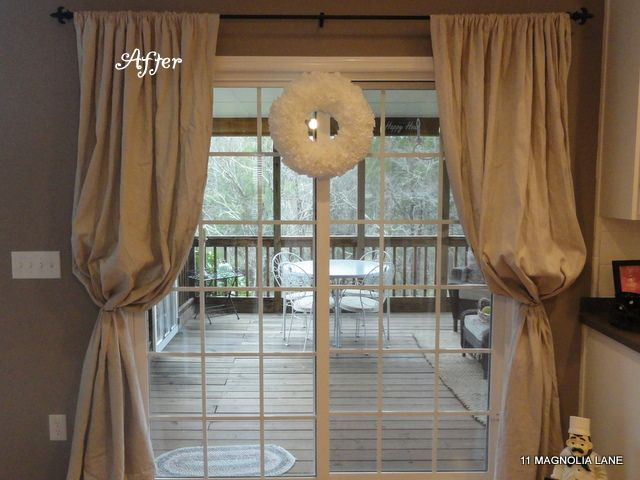17 Best Images About Patio Doors On Pinterest Window Treatments Sheer Curtains And Striped