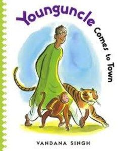 Young Uncle Comes to Town.    #India #Indian #culture #art #children #read #book #books #school #students #home #family #kids #kidslit #summer #reading #NRI #teaching #preschool #kindergarten #elementary #world #global #citizen #geography #funny