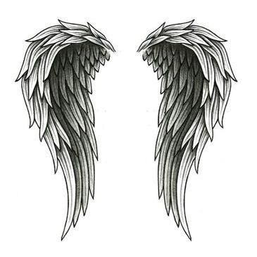 ...   Angel Wing Tattoos Wing Tattoos and Small Angel Wing Tattoos