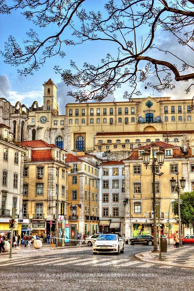 Lisboa: Rossio square #Portugal