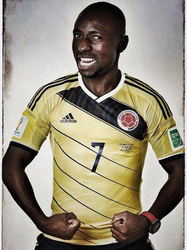 Las fotos oficiales de #Colombia #Fifa #Brasil2014 - Pablo Armero