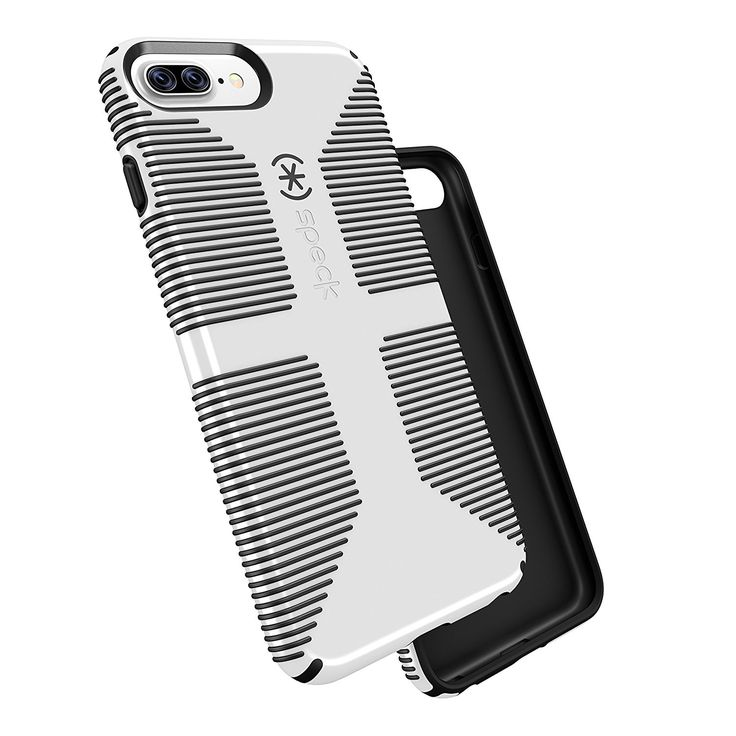 Description Rubber stripes provide a no-slip grip great for snapping pics, for iPhone 7 Plus - Military-Grade drop Tested onto a hard, unrelenting surface with phone retaining full functionality - Pat