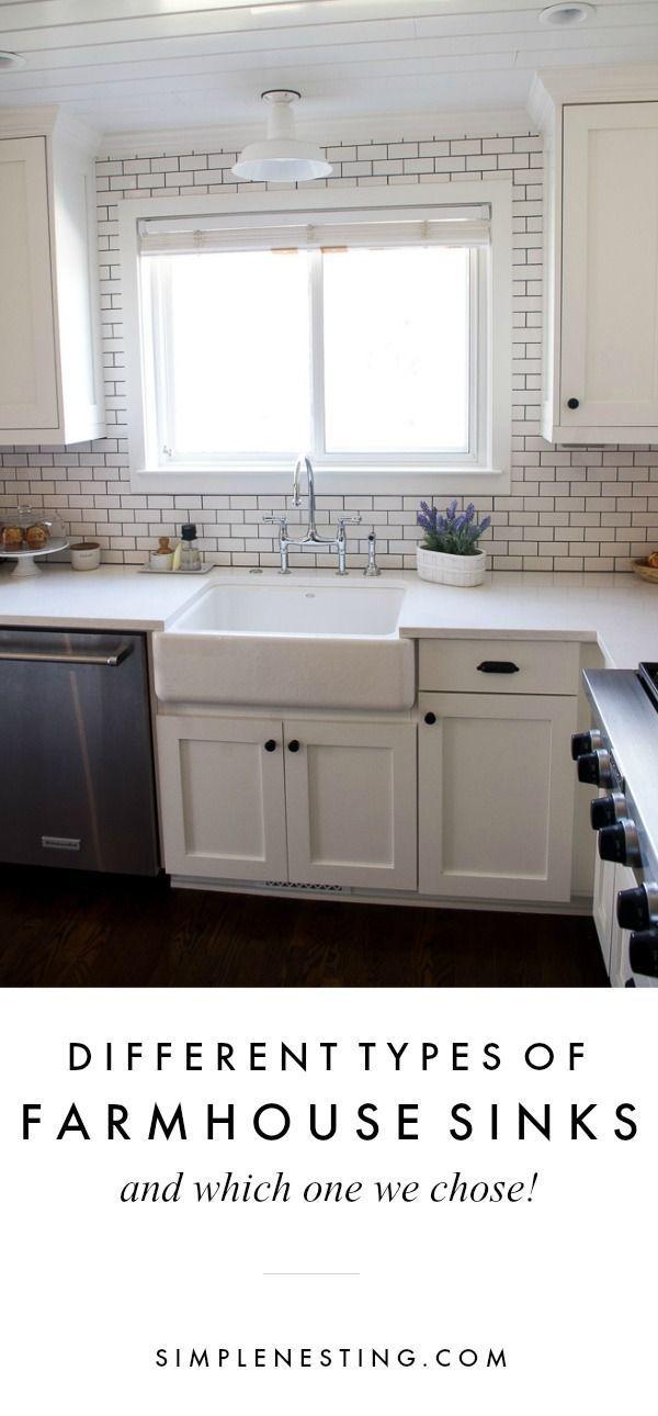 Farmhouse Sink Review Kitchen inspiration Pinterest Farmhouse