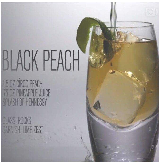 Ciroc black peach