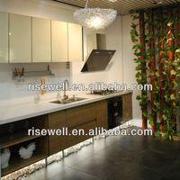 chapa laminada gabinetes de cocina de formica