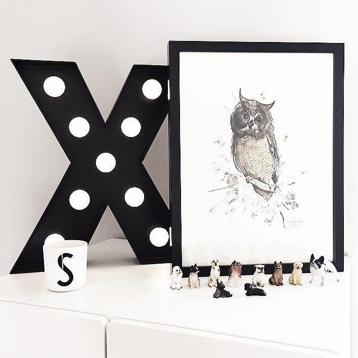 owl  h e d v i g #kidsperation #nordickidsliving #barnerom #inspoforkiddos #interior4you #barnogbaby #barnrum #interiordesign #kidsroom #littleshabbyy #barneskatter #poster #print #finabarnsaker #inspiration #childsroom #homedetails #norwegianmade #barnrum #mittbarnerom #børneværelse #ugle #bonytt #nordichomes #artprints#artwork #kardashiankids #cathrinedoreenhome #littleone___#owl #designletters by cathrinedoreen