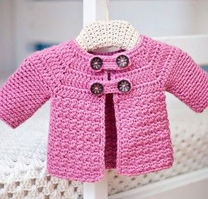 To the Crochet KIT This is such a cute pattern for a little girl. The pattern is fine for a crochet beginner and the little  jacket is fast to make. You buy it as a KIT; pattern and yarn in one...