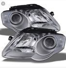 Awesome Awesome Volkswagen Passat 2006 - 2010 Right & Left Pair Set Headlights Headlamps W/O Hid 2017 2018