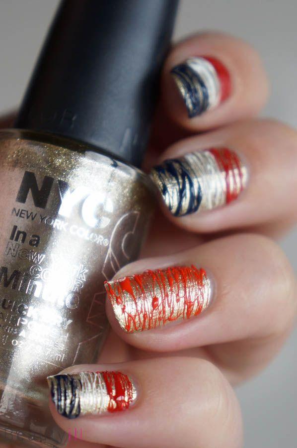 DIY Nail Art | Koningsdag / Koninginnedag ~ Beautyill | Beautyblog met nail art, nagellak, make-up reviews en meer!