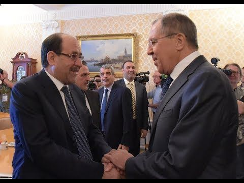 Lavrov Welcomes Iraqi Vice President in Moscow