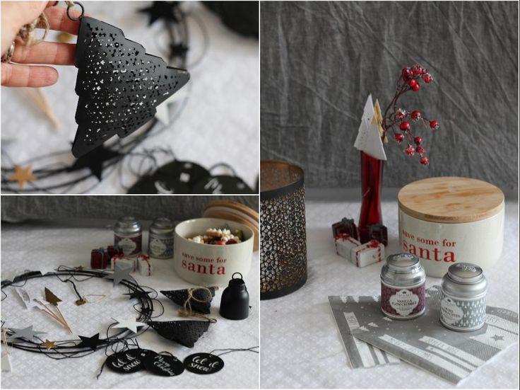ediths weihnachtsdeko skandinavisch nordisch schwarz weiss Spekulatiuskugeln rezept weihnachtsrezept castlemaker