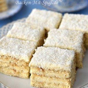 Rafaello-Kuchen mit Eierlikör ohne Backen   – Rezepte