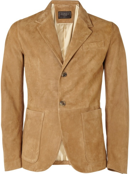 Men's Natural Suede Jacket | Brown suede, Jackets and Brown