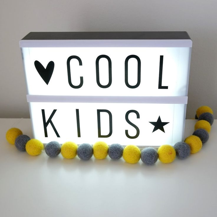 A5 Lightbox Lovely Little Company   Nursery Decor