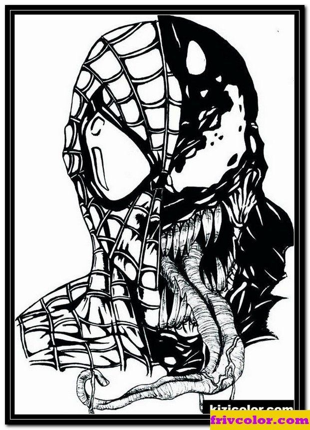 Lego Spiderman Coloring Pages Spiderman Vs Venom Coloring Pages 1 Friv Free Coloring In 2020 Spiderman Drawing Spiderman Coloring Drawings