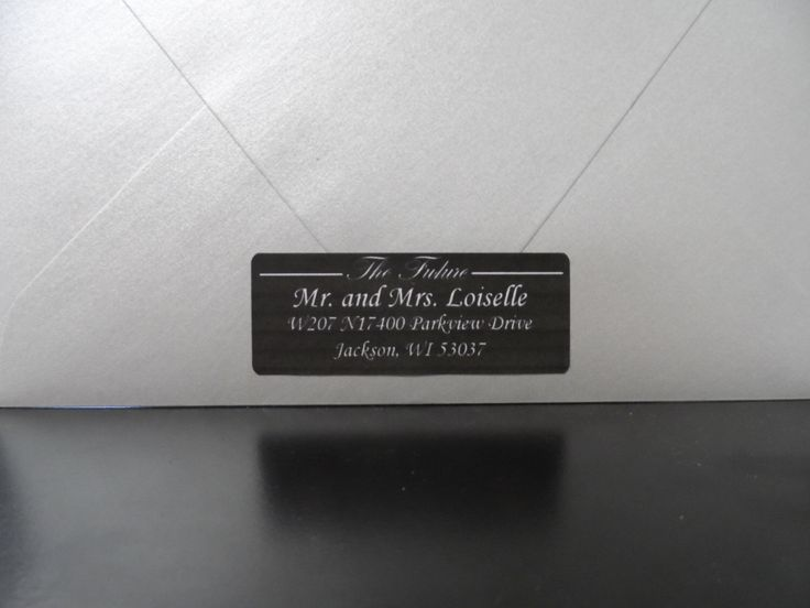 17 Best ideas about Wedding Address Labels on Pinterest   Address ...