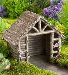 Miniature Fairy Garden Shed