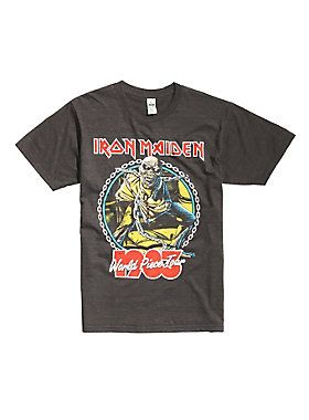 LEGENDARY // Iron Maiden World Piece Tour 1983 T-Shirt