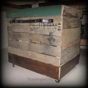 Rolling Storage Bin or Serving Cart