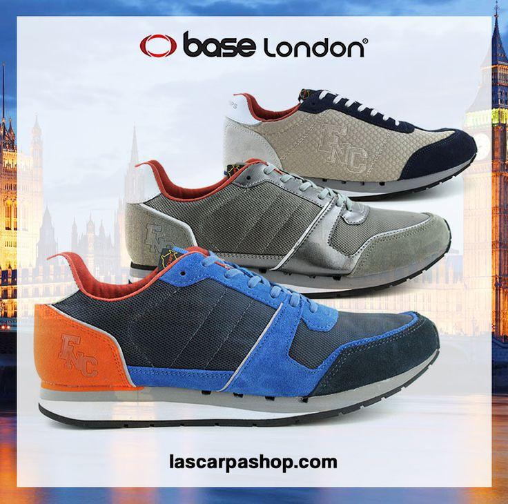 British Style! Segui lo stile londinese con le nuove sneakers da uomo della Base London
