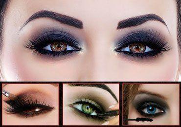 Smokey Eyes Makeup : Step by Step Tutorial For Beginners!