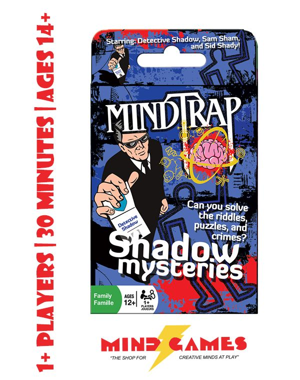 The MindTrap Expansion Decks are fun and challenging riddle card games for 1 or more players ages 14 and up. Gameplay is approximately 30 minutes. Please specify which MindTrap Expansion you wish to order, otherwise a random expansion will be chosen for you. This item is subject to availability and we cannot guarantee the stock of each expansion deck.